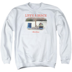 Image for Office Space Crewneck - Life's a Beach