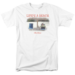 Image for Office Space T-Shirt - Life's a Beach