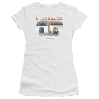Image for Office Space Girls T-Shirt - Life's a Beach