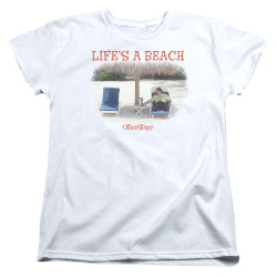 Image for Office Space Womans T-Shirt - Life's a Beach