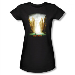 Image for Lord of the Rings Girls T-Shirt - Kings of Old