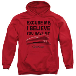 Image for Office Space Hoodie - Excuse Me, I Believe You Have My Stapler