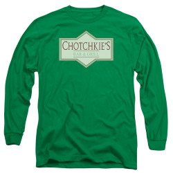 Image for Office Space Long Sleeve Shirt - Chotckie's Bar & Grill Logo