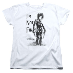 Image for Edward Scissorhands Womans T-Shirt - I'm Not Finished