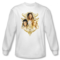 Image for Lord of the Rings the Women of Middle Earth Long Sleeve T-Shirt
