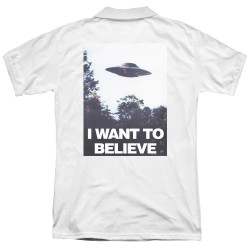 Image for The X-Files Polo Shirt - Believe Poster