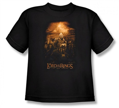 Image for Lord of the Rings Youth T-Shirt -Riders of Rohan