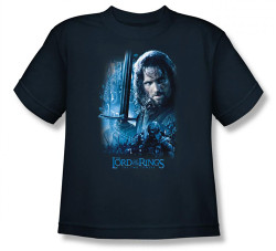 Image for Lord of the Rings Youth T-Shirt -King in the Making