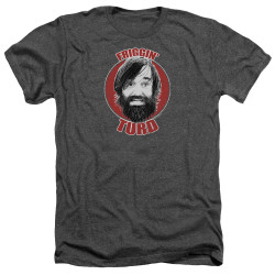 Image for Last Man on Earth Heather T-Shirt - Friggin' Turd