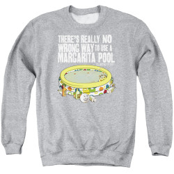 Image for Last Man on Earth Crewneck - There's No Wrong Way to Use a Margarita Pool