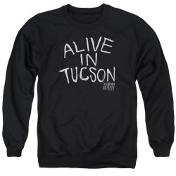 Image for Last Man on Earth Crewneck - Alive in Tucson