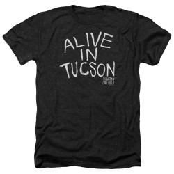 Image for Last Man on Earth Heather T-Shirt - Alive in Tucson