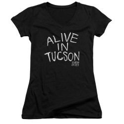 Image for Last Man on Earth Girls V Neck - Alive in Tucson