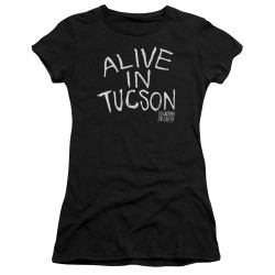 Image for Last Man on Earth Juniors Premium Bella T-Shirt - Alive in Tucson
