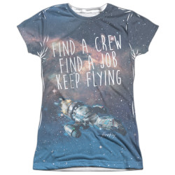 Image for Firefly Girls T-Shirt - Keep Flying