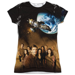 Image for Firefly Girls T-Shirt - Cast