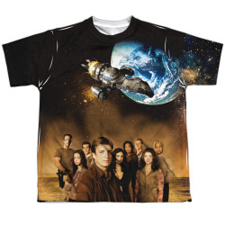 Image for Firefly Youth T-Shirt - Cast