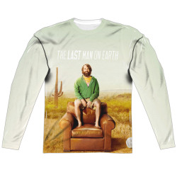 Image for Last Man on Earth Long Sleeve - Sitting