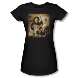Image for Lord of the Rings Girls T-Shirt - Return of the King Poster
