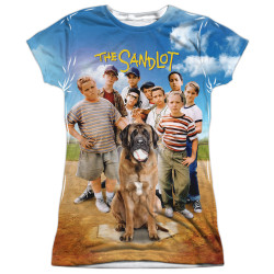 Image for The Sandlot Girls T-Shirt - Poster