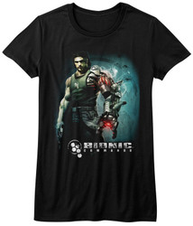 Image for Bionic Commando Girls T-Shirt - Steam Arm