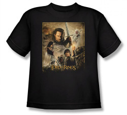 Image for Lord of the Rings Youth T-Shirt -Return of the King Poster