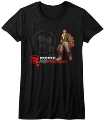 Image for Bionic Commando Girls T-Shirt - Rearmed