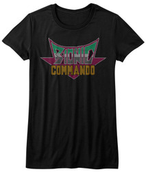 Image for Bionic Commando Girls T-Shirt - Pixel Logo