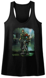 Image for Bionic Commando Juniors Tank Top - Damaged Road