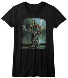 Image for Bionic Commando Girls T-Shirt - Damaged Road