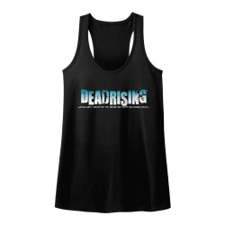 Image for Dead Rising Juniors Tank Top - Logo