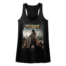 Image for Dead Rising Juniors Tank Top - DR3 Cover