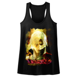 Image for Devil May Cry Juniors Tank Top - Grunge Stare