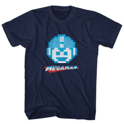 Image for Mega Man Megaface T-Shirt