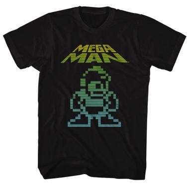 Image for Mega Man Mega Pixel T-Shirt
