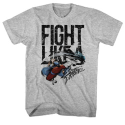 Image for Street Fighter Fight Like a...Heather T-Shirt