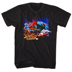 Image for Street Fighter Alley Fight T-Shirt