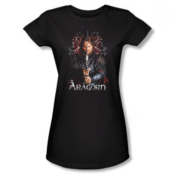 Image for Lord of the Rings Girls T-Shirt - Aragorn