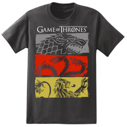 Image for Game of Thrones T-Shirt - Three Houses