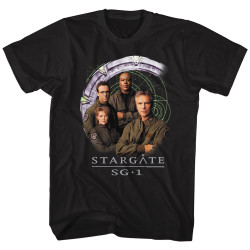 Image for Stargate Cast and Gate T-Shirt
