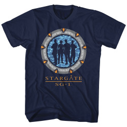 Image for Stargate Silhouette Gate T-Shirt