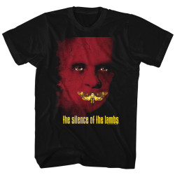Image for Silence of the Lambs Poster T-Shirt