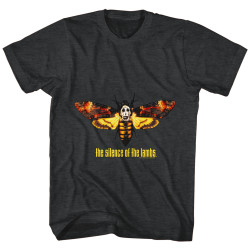 Image for Silence of the Lambs Moth Heather T-Shirt