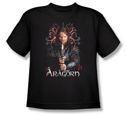 Image for Lord of the Rings Youth T-Shirt -Aragorn