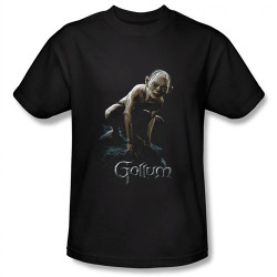 Image Closeup for Lord of the Rings Gollum T-Shirt LOR3005-AT