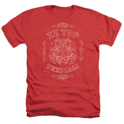 Image for ZZ Top Heather T-Shirt - Texicali Demon