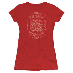 Image for ZZ Top Girls T-Shirt - Texicali Demon
