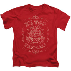 Image for ZZ Top Kids T-Shirt - Texicali Demon