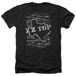 Image for ZZ Top Heather T-Shirt - Barbed