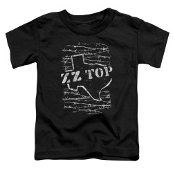 Image for ZZ Top Toddler T-Shirt - Barbed
